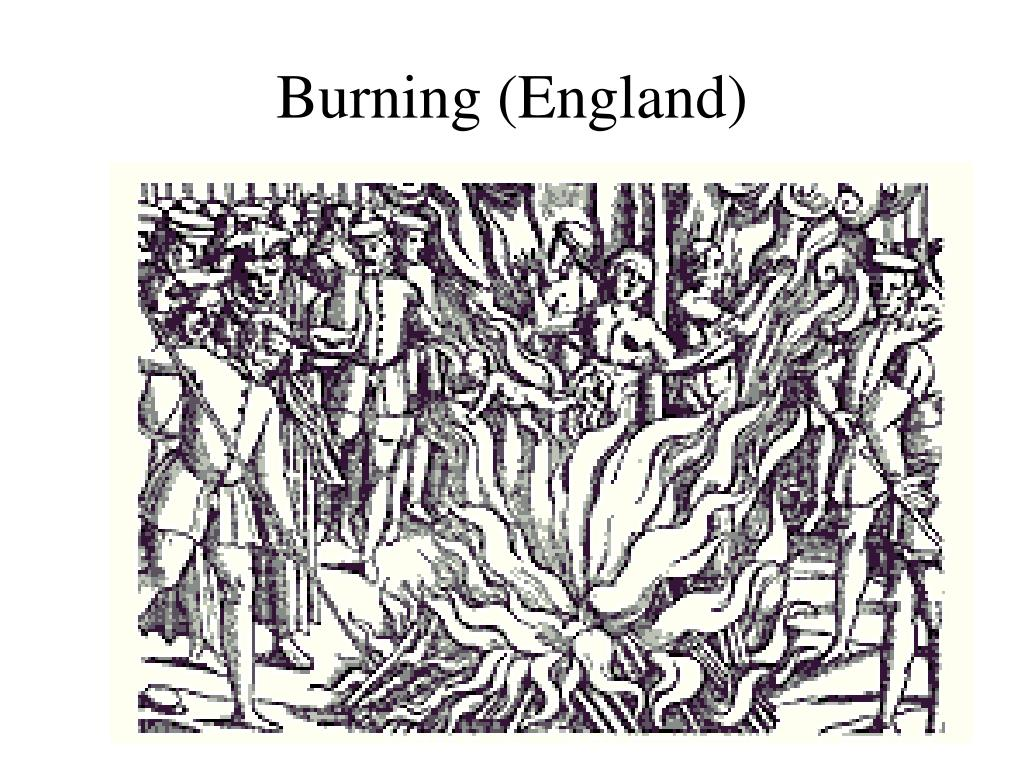Burning (England)