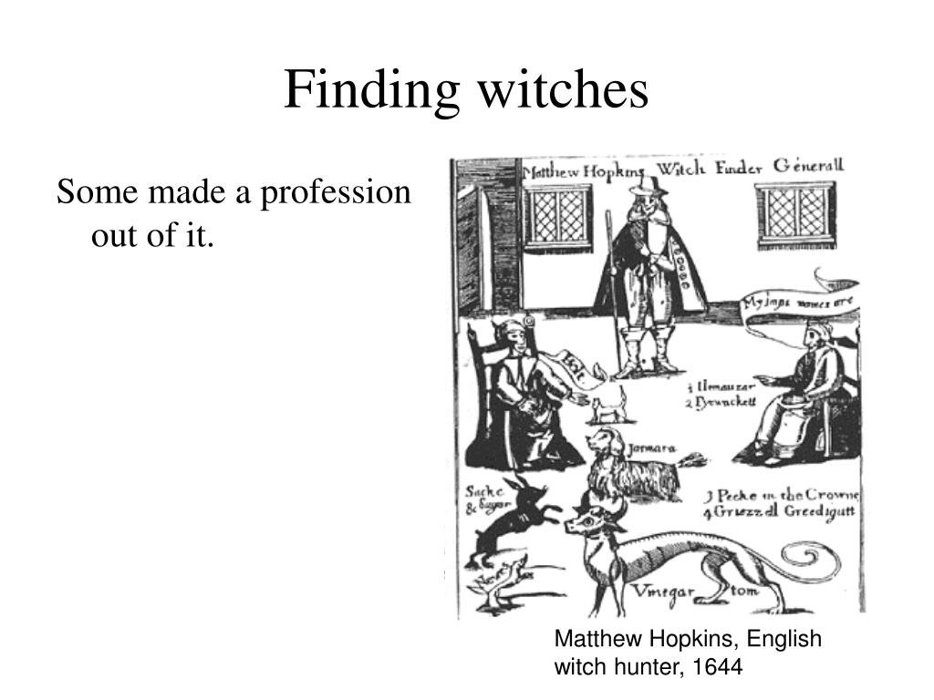 Finding witches