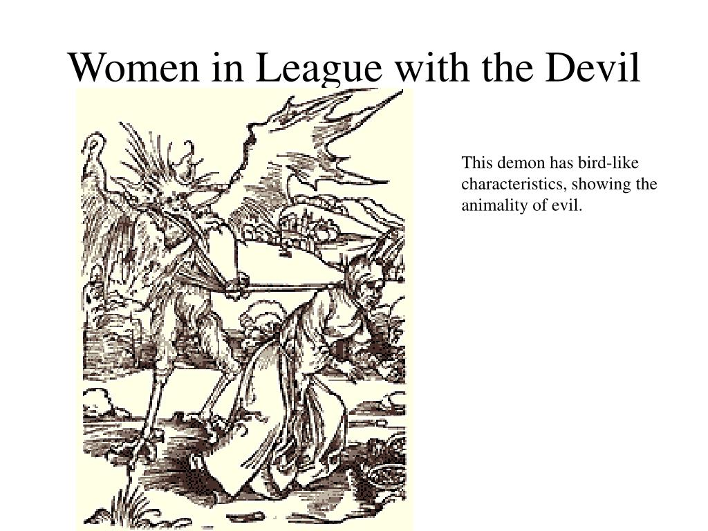 Women in League with the Devil