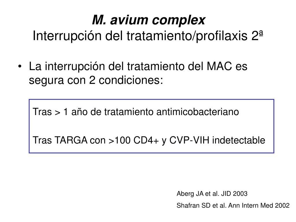 M. avium complex