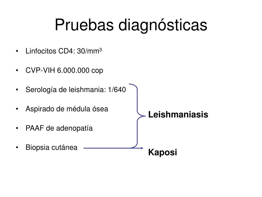 Linfocitos CD4: 30/mm