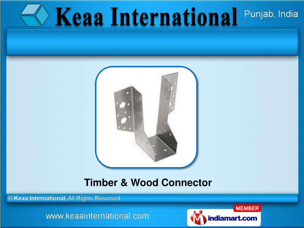 Timber & Wood Connector
