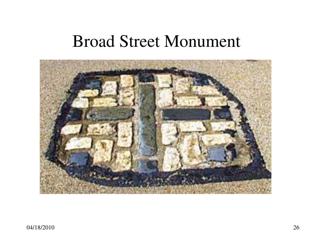 Broad Street Monument