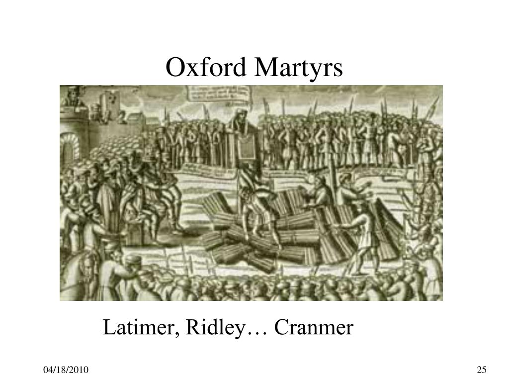 Oxford Martyrs