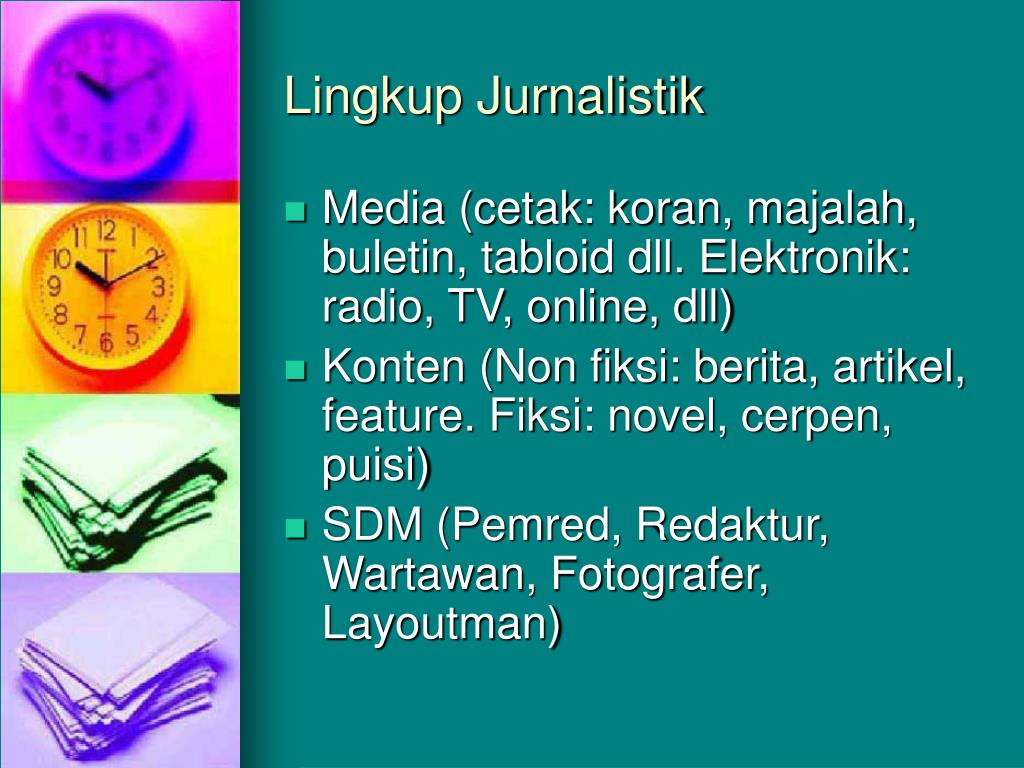 Lingkup Jurnalistik