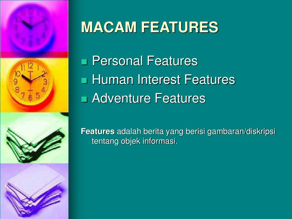 MACAM FEATURES