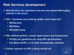 web services development