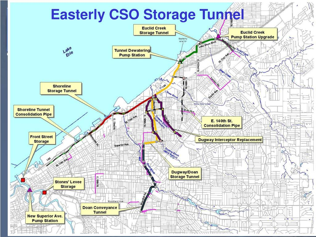 Easterly CSO Storage Tunnel