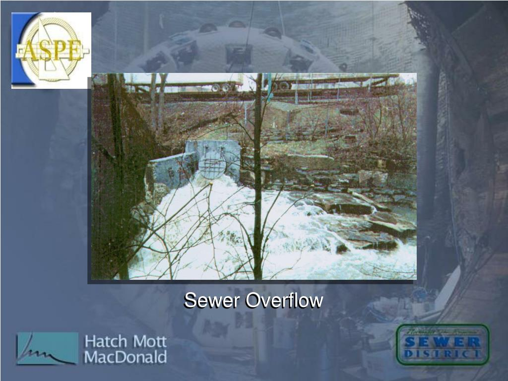 Sewer Overflow