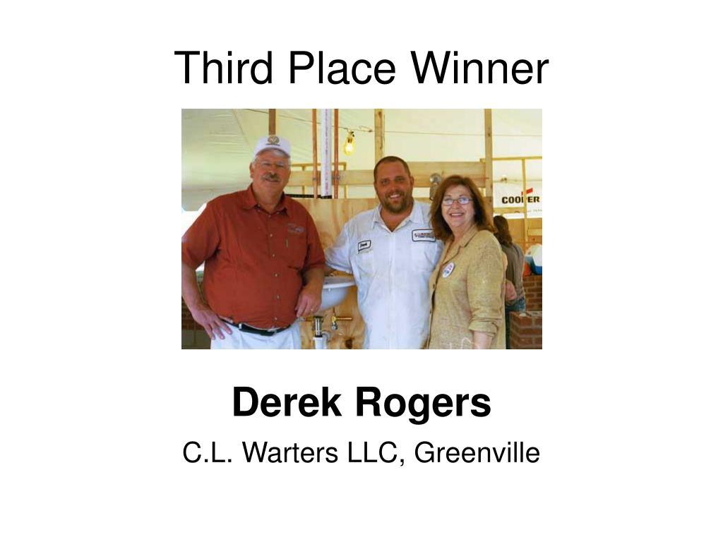 Third Place Winner
