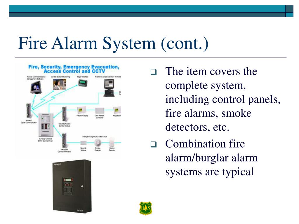 Fire Alarm System (cont.)