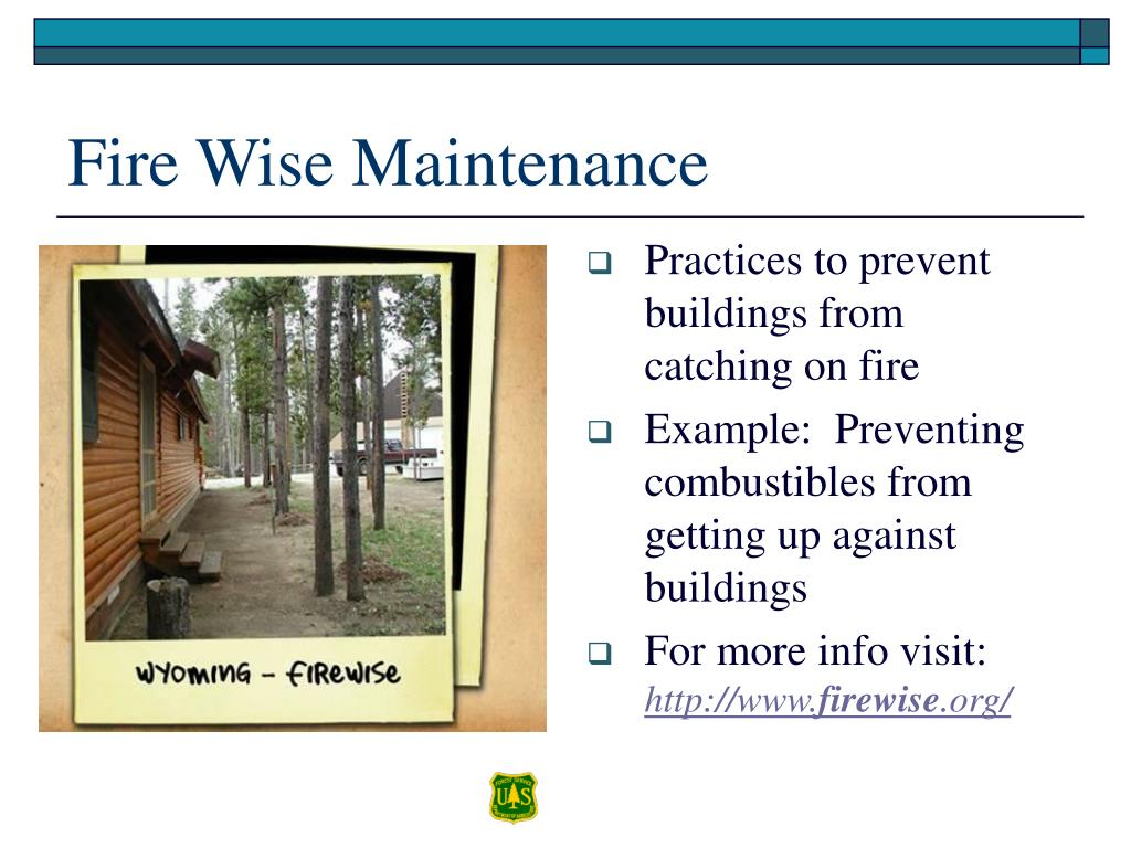 Practices to prevent buildings from catching on fire