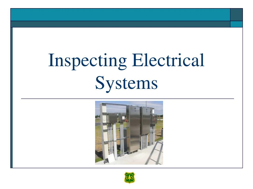 Inspecting Electrical Systems
