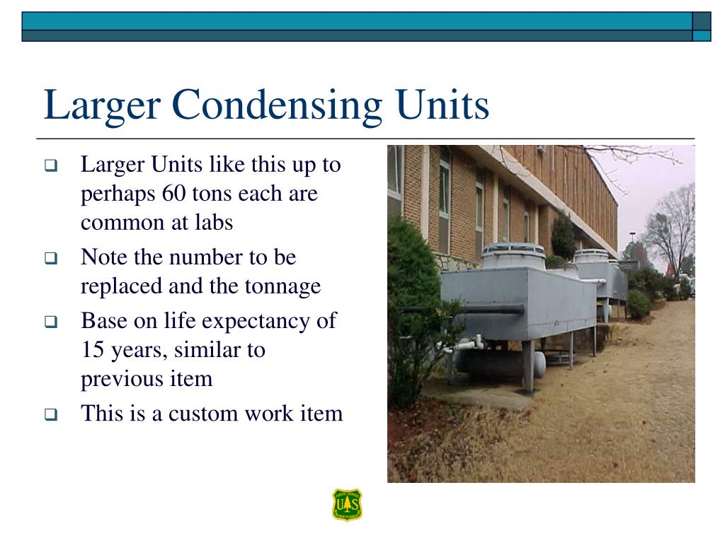 Larger Units like this up to perhaps 60 tons each are common at labs