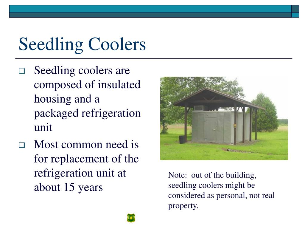 Seedling coolers are composed of insulated housing and a packaged refrigeration unit