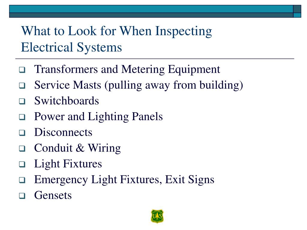 What to Look for When Inspecting Electrical Systems
