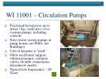 wi 11001 circulation pumps