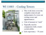 wi 11003 cooling towers