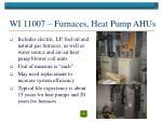 wi 11007 furnaces heat pump ahus