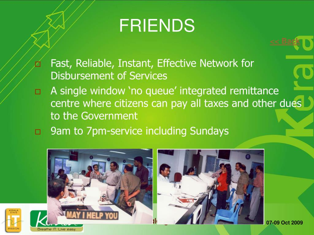 Fast, Reliable, Instant, Effective Network for Disbursement of Services