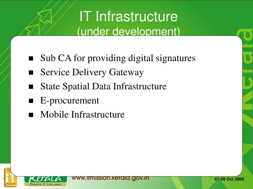 Sub CA for providing digital signatures