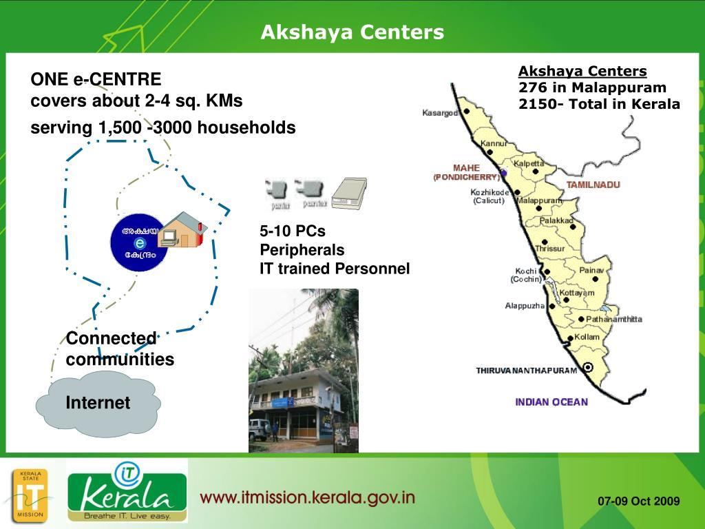 Akshaya Centers
