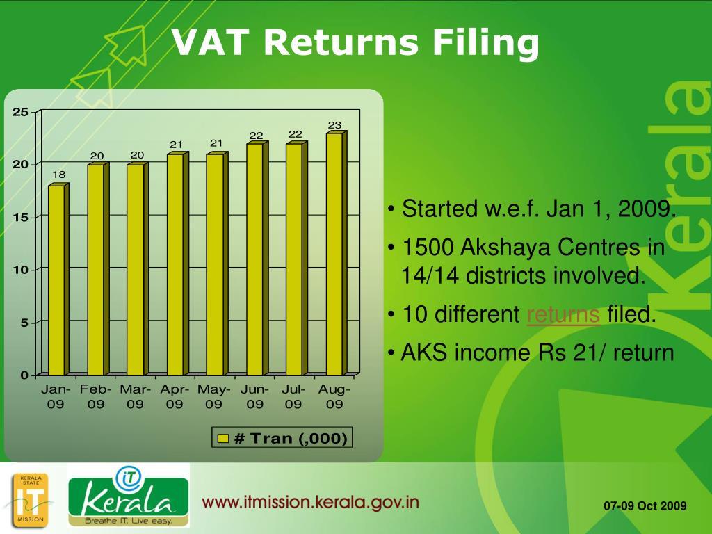 VAT Returns Filing