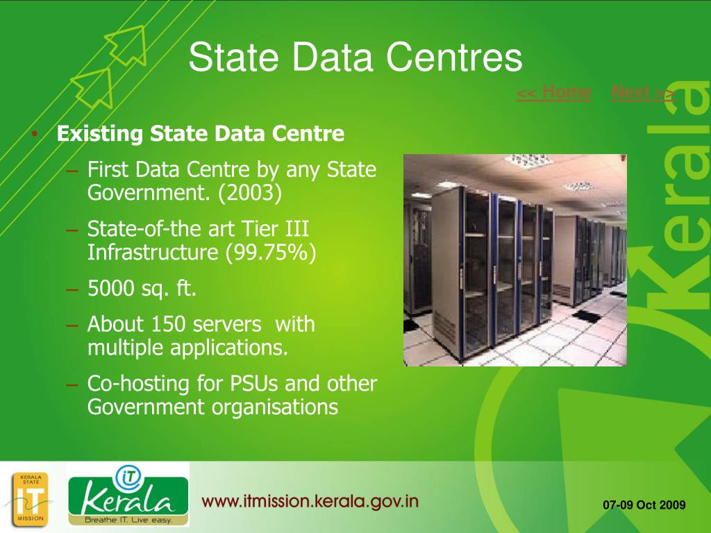 State Data Centres