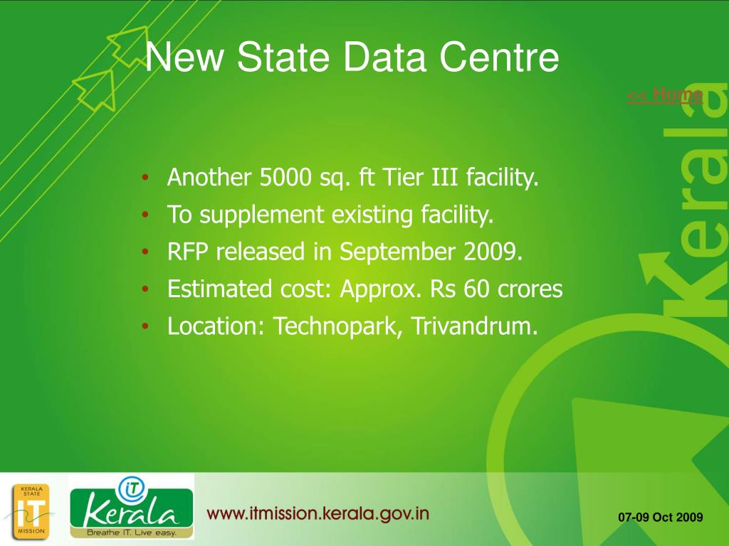 New State Data Centre