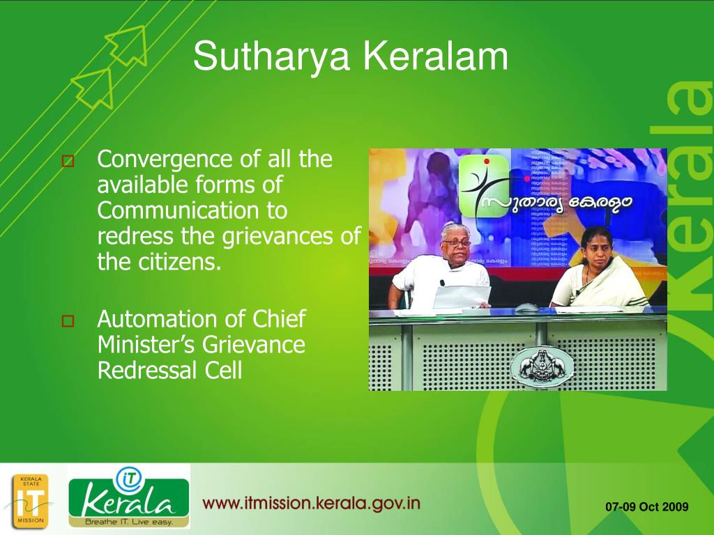 Convergence of all the available forms of Communication to redress the grievances of the citizens.