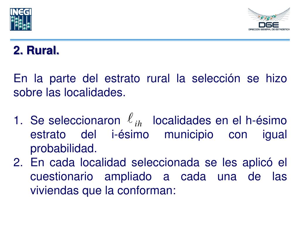 2. Rural.