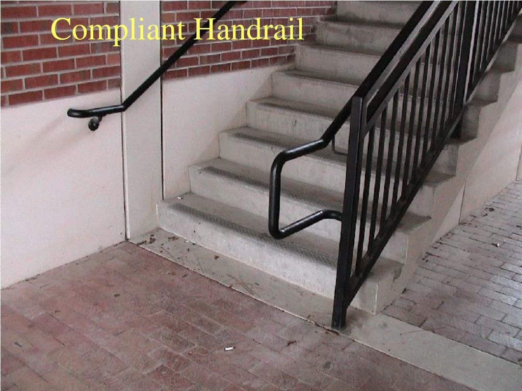 Compliant Handrail
