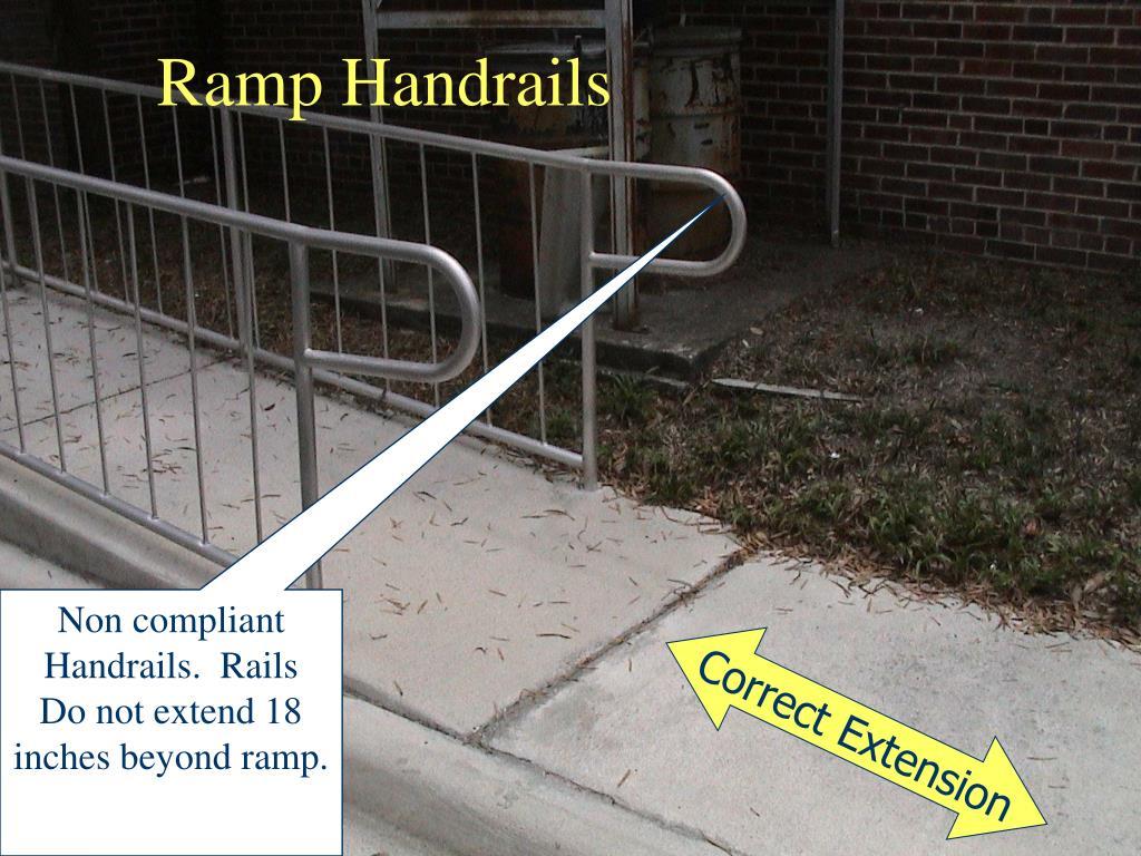 Ramp Handrails