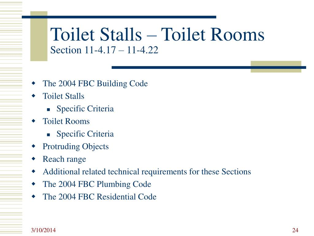 Toilet Stalls – Toilet Rooms