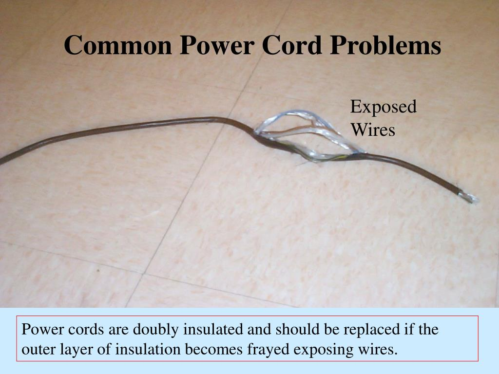 Common Power Cord Problems