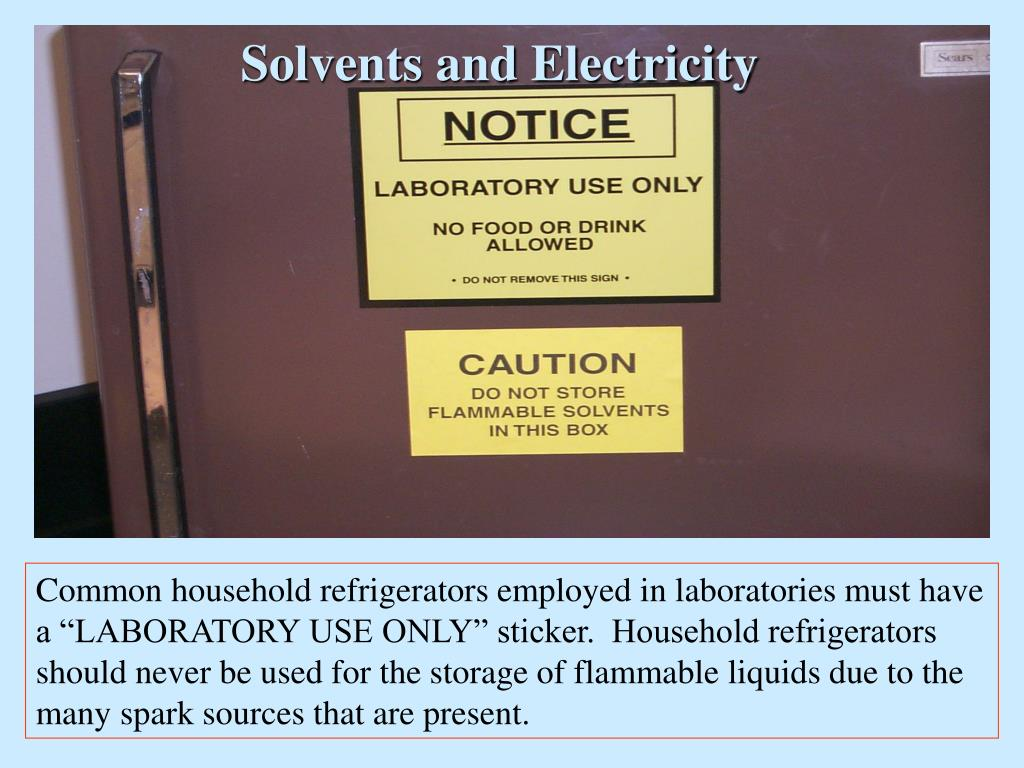 Solvents and Electricity