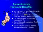apprenticeship facts and benefits12
