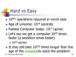 hard vs easy19