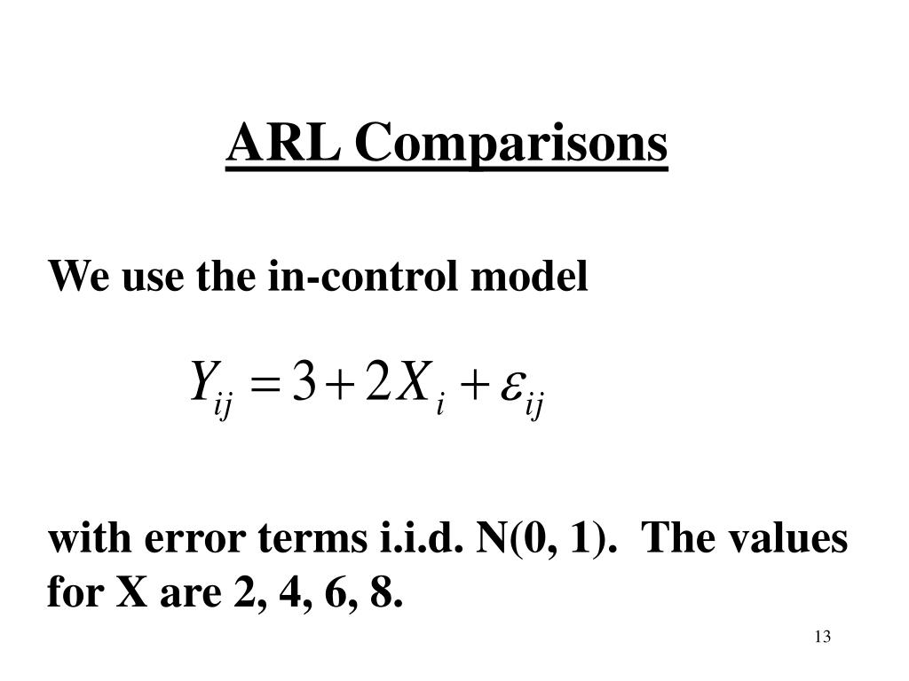 ARL Comparisons