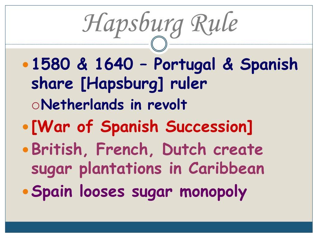 Hapsburg Rule