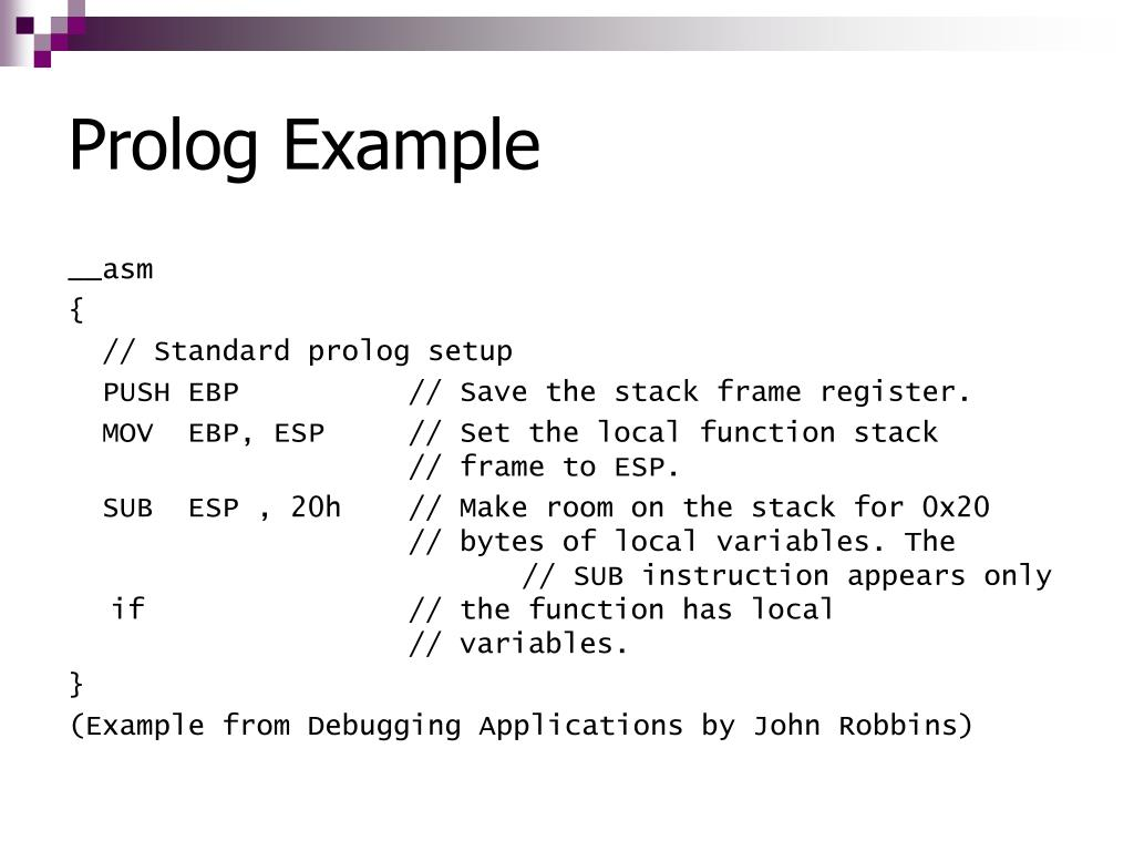 Prolog Example