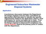 engineered subsurface wastewater disposal systems13