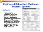 engineered subsurface wastewater disposal systems18