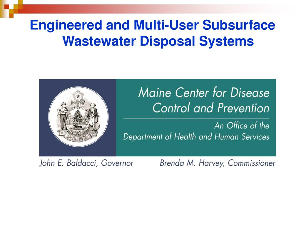 Engineered and Multi-User Subsurface Wastewater Disposal Systems