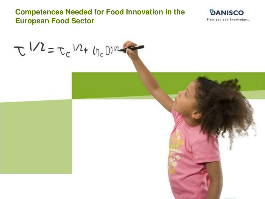 Competences Needed for Food Innovation in the European Food Sector
