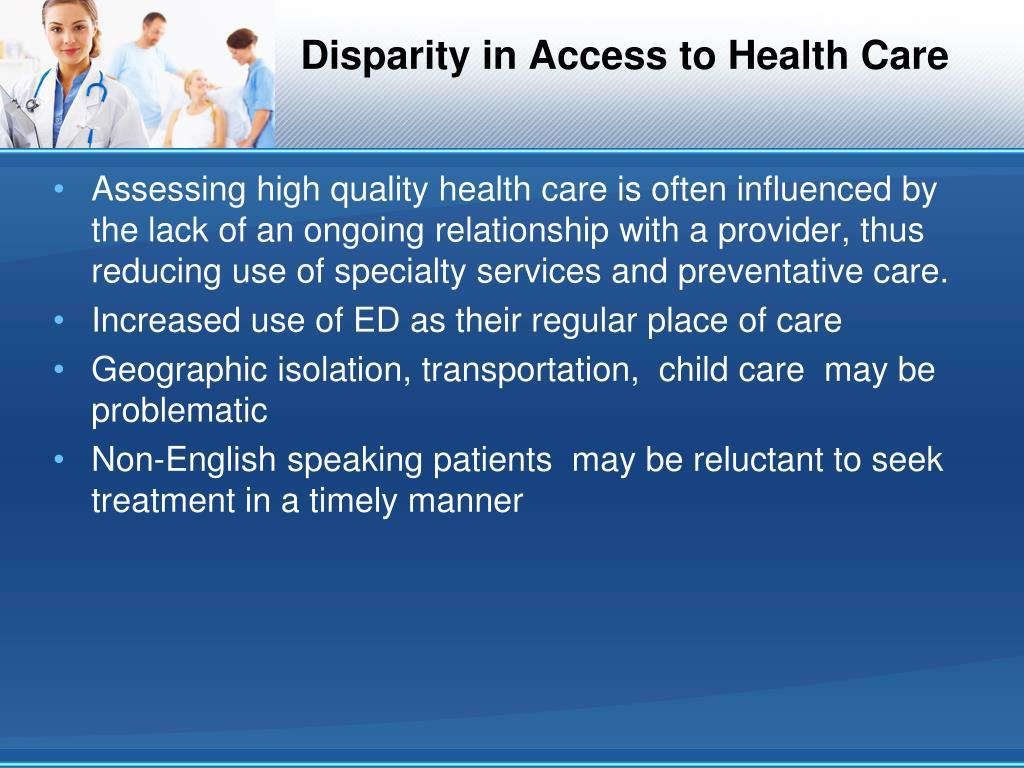 health care disparities the uninsured and Health insurance disparities and the affordable care  disparities in the uninsured rate  help to reduce racial and ethnic disparities in health care.