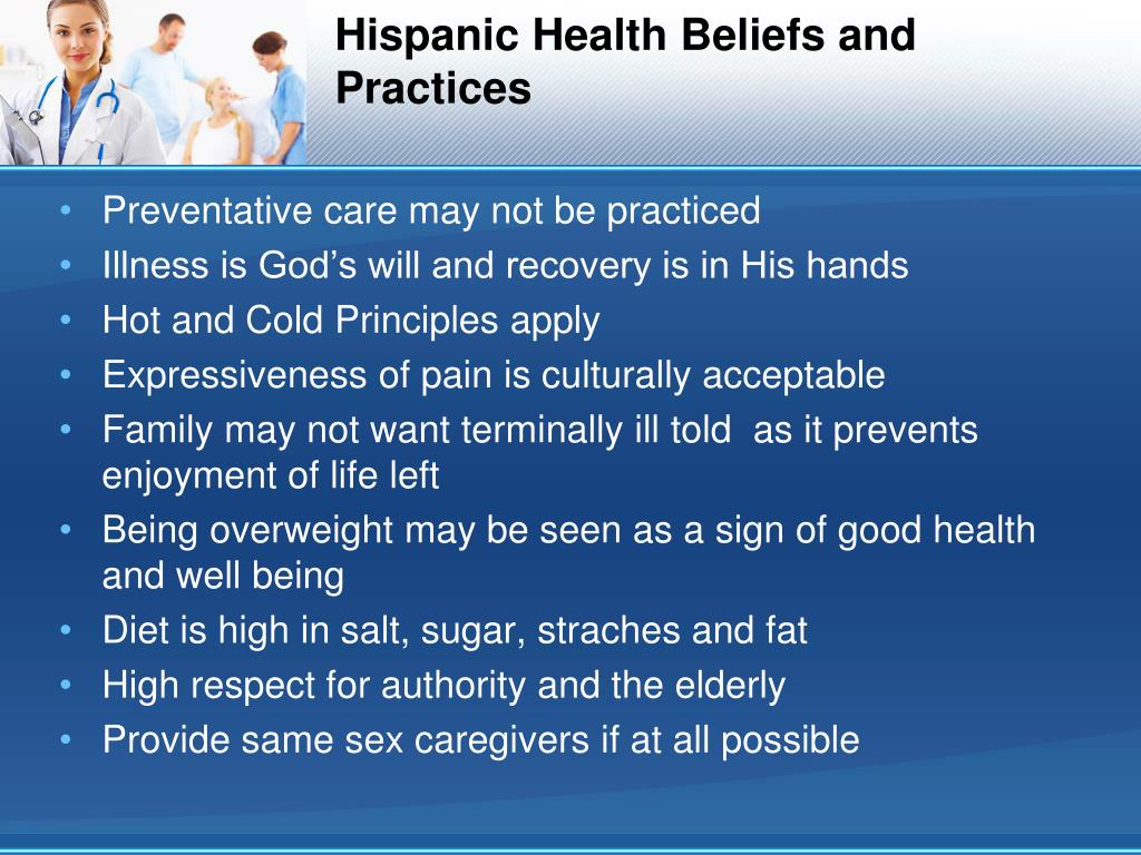 japanese health beliefs and practices How culture influences health beliefs  and many health care beliefs and health practices differ from those of the traditional american health care culture .