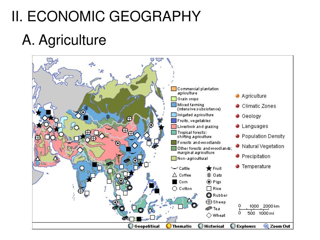 II. ECONOMIC GEOGRAPHY