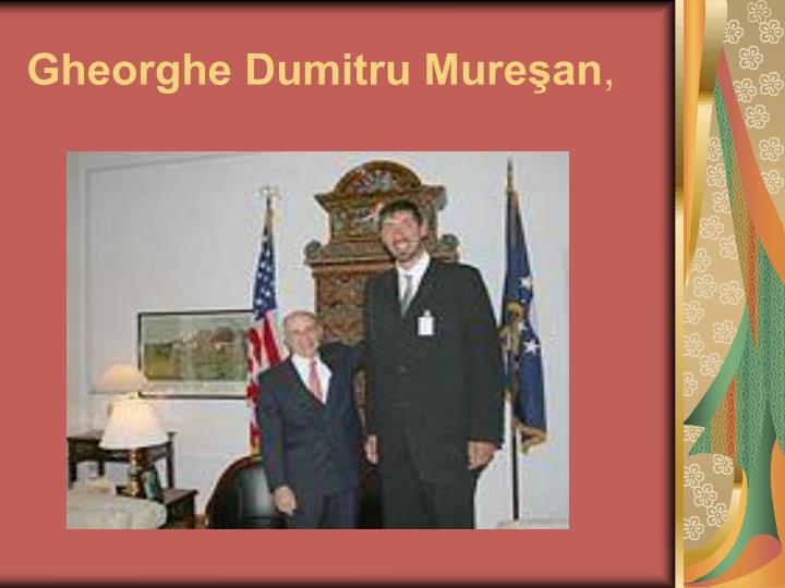 Gheorghe Dumitru Mureşan