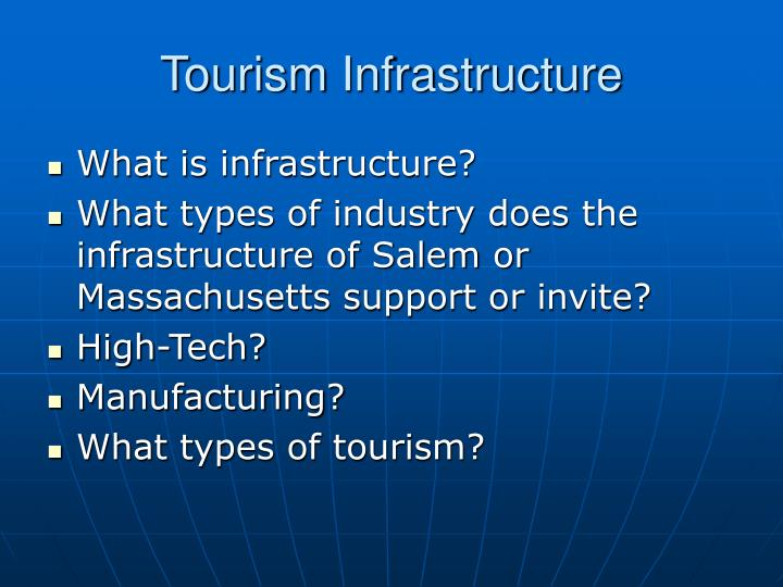 Tourism infrastructure